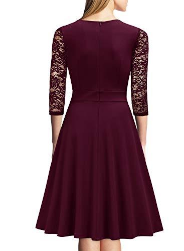ᐅ Miusol? Damen Abendkleid Elegant Cocktailkleid Vintage ...