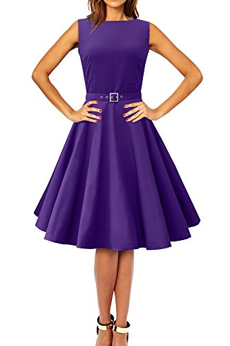'Audrey' Vintage Clarity Kleid im 50er-Jahre-Stil