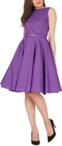 'Audrey' Vintage Clarity Kleid im 50er-Jahre-Stil - 4