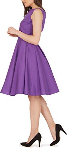 'Audrey' Vintage Clarity Kleid im 50er-Jahre-Stil - 5