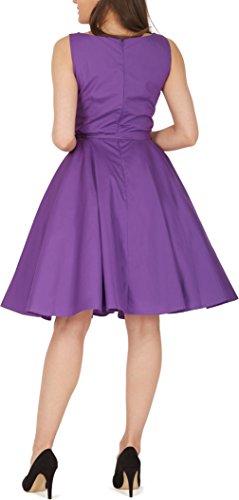 'Audrey' Vintage Clarity Kleid im 50er-Jahre-Stil - 6