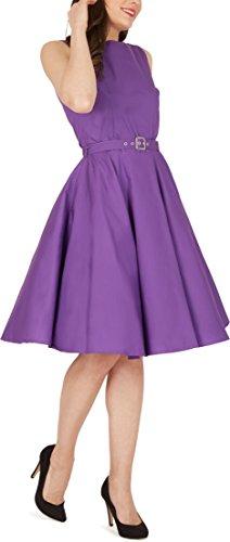 'Audrey' Vintage Clarity Kleid im 50er-Jahre-Stil - 8