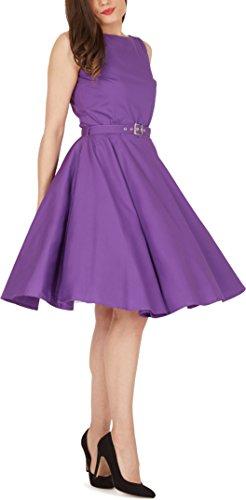 'Audrey' Vintage Clarity Kleid im 50er-Jahre-Stil - 7