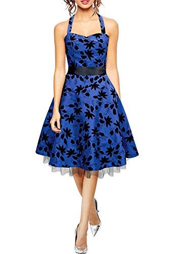 Maisy' Satin Essence Rockabilly-Kleid