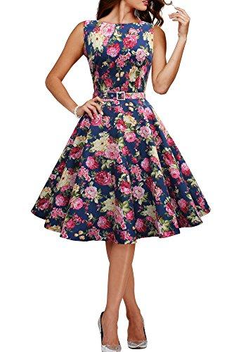 'Audrey' Vintage Divinity Kleid im 50er-Jahre-Stil