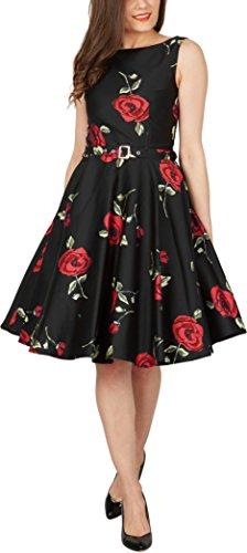 'Audrey' Vintage Infinity Kleid im 50er-Jahre-Stil