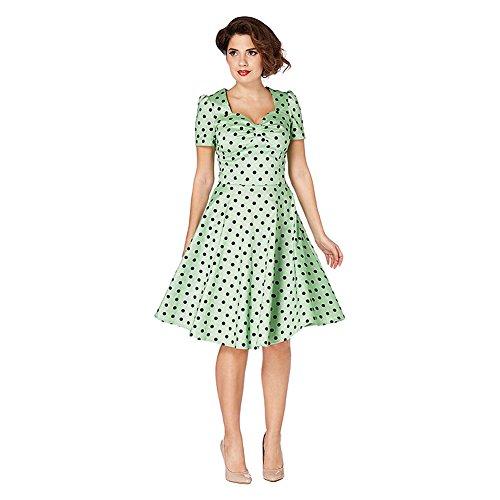 Voodoo Vixen Kleid HANNA DRESS 2498 Grün XL