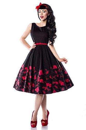 50er Jahre Rockabilly Kleid mit mit schönem Blumenmuster