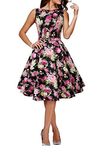 Black Butterfly 'Audrey' Vintage Divinity Kleid im 50er-Jahre-Stil