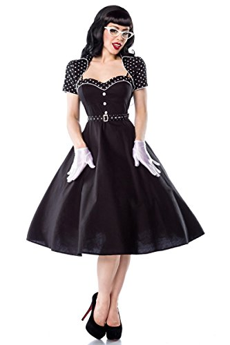 50er Jahre Rockabilly Petticoat Kleid mit Bolero & Gürtel