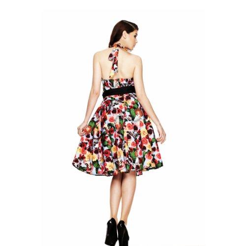 Hell Bunny London – 50er Jahre Kleid mit mexikanisch Alloverprint - 3