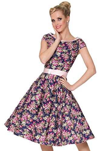 Damen 1950er Vintage & Rockabilly Style Kleid