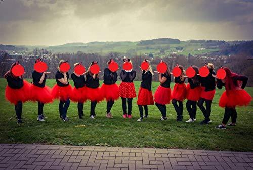 Bbonlinedress Kurz Retro Petticoat Rock Ballett Blase 50er Tutu Unterrock Black L - 6