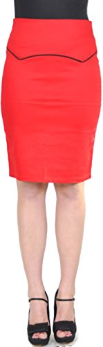 KÜSTENLUDER Bloody 50s PIN UP Pencil Skirt Rockabilly