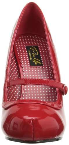 baee235e771d9d Pleaser PinUp Couture CUTIEPIE-02 Damen Pumps, Rot (Red pat), EU