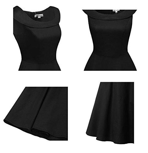 Vintage kleider schwarz