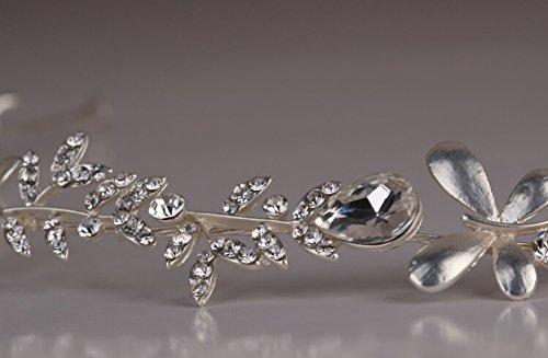 ᐅ Kimmyku Perlen Diadem Braut Vintage Strass Haarband Haarschmuck