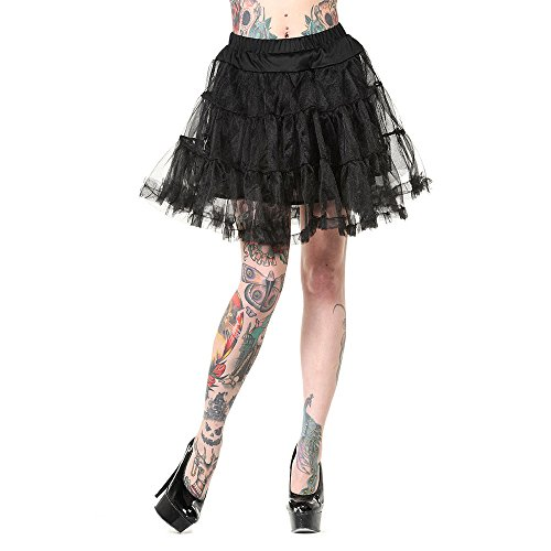 Banned Mini Petticoat Schwarz - Medium