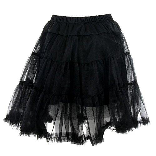 Banned Mini Petticoat Schwarz - Medium -