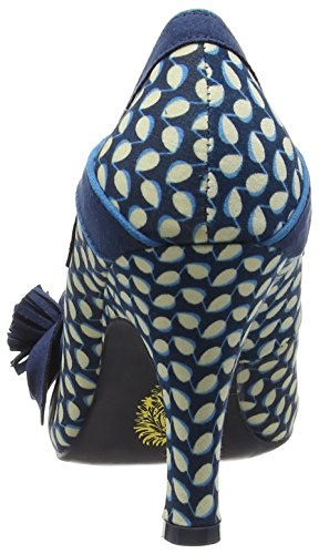 Ruby Shoo  Issy,  Damen Pumps , Blau - Blue (Blue Floral) - Größe: 40 EU ( 7 UK ) -