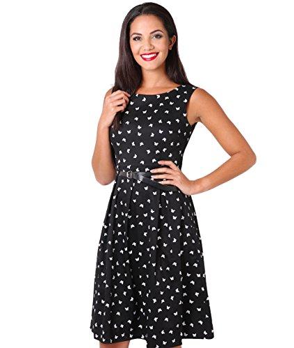 KRISP Rockabilly Pin Up Kleid 50er Jahre Vintage Kleid
