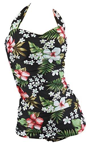 Aloha-Beachwear Damen Badeanzug A3070 Mehrfarbig Gr. 44