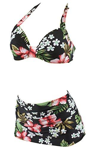 Aloha-Beachwear Damen Bikini A1026 Mehrfarbig Gr. 38