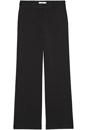 FIND Hose Damen mit Weitem Schlag und Mittelhohem Bund Schwarz (Black), 36 (Herstellergröße: Small) - 6