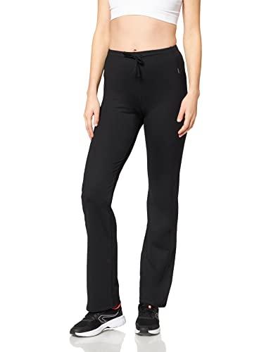 Venice Beach Damen Lange Hose Jazzy Pants, Schwarz, M, 12023-990