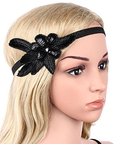 babeyond 1920s stirnband damen 20er jahre stil haarband. Black Bedroom Furniture Sets. Home Design Ideas