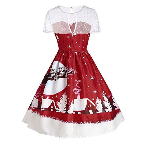 Weihnachtskleid // Elegant Abendkleid Vintage Weihnachten - 2