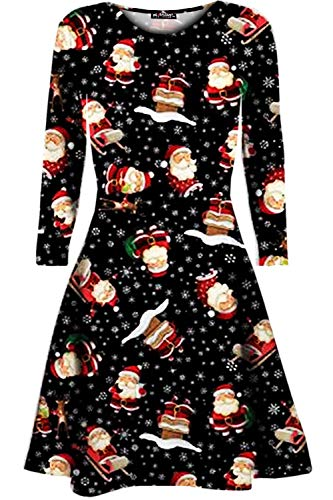 Weihnachtskleid //  Santa Standing Xmas Weihnachtsbaum