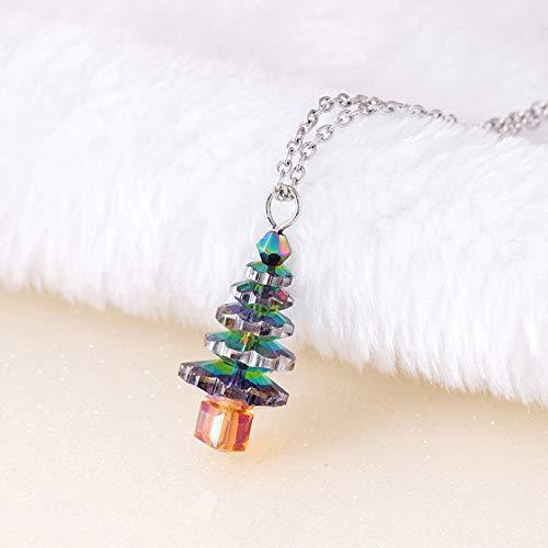 Weihnachtskleid Elegant // Plüschkante Rundhals - 7