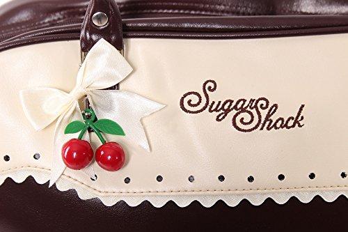 SugarShock Auro Budapester Shopper Handtasche, Farbe:braun - 3