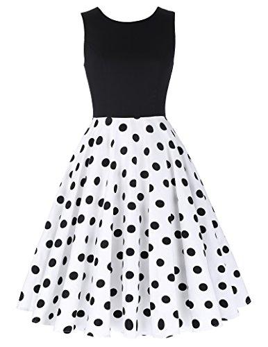 50er Jahre Rockabilly Kleid // Festliches Petticoat Kleid