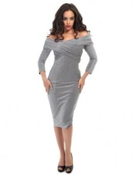 Hollie Lurex Pencil Dress