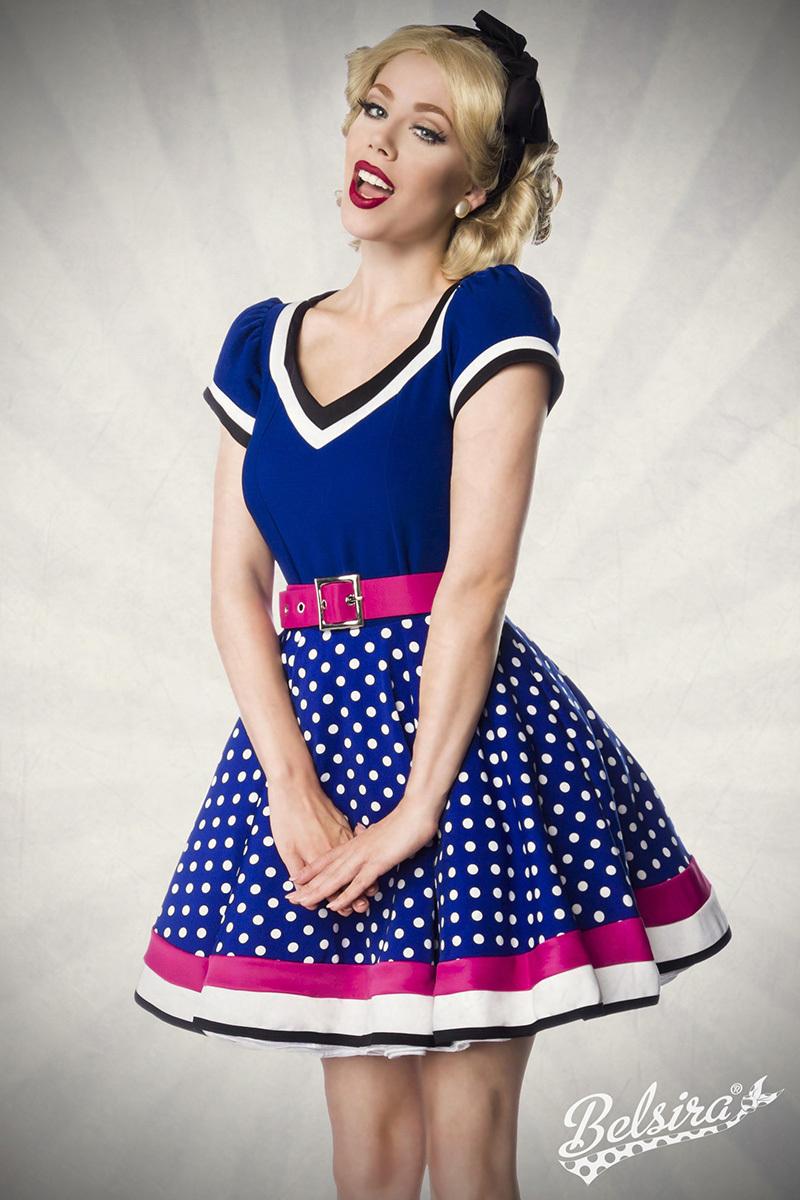 ᐅ vintage petticoat kleid mit punkten