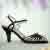 40s Amelia Sandals in Black