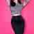 TopVintage exclusive ~ 50s Vixen Pencil Skirt in Black